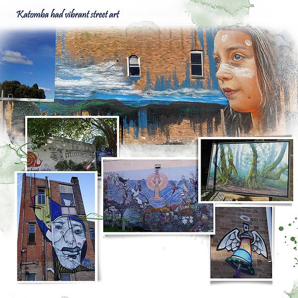 9s Blue Mtn Street Art 1