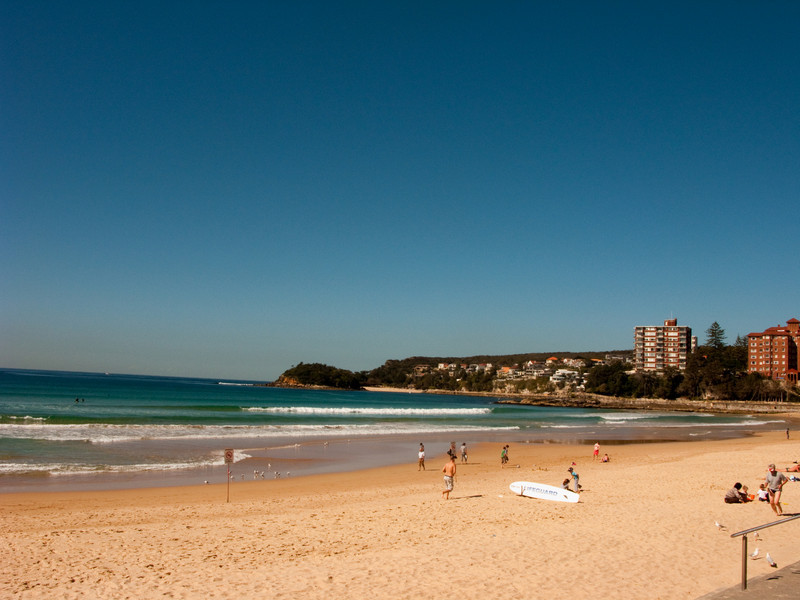 View of Manly Beach