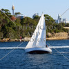 Sailboat in Sydney Australia.