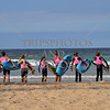 Surf training at Manly beach near Sydney, Australia.