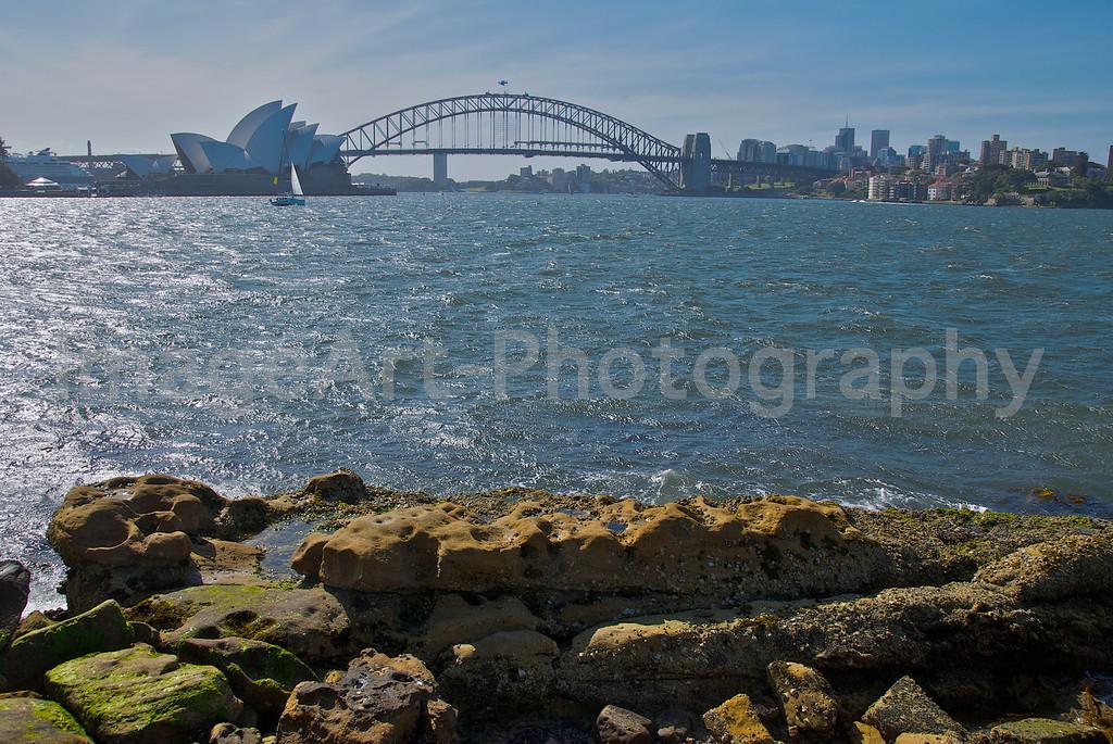 Sydney Harbour, Bridge and Opera House
