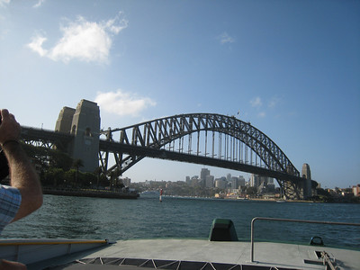 Harbour Bridge taken from the River Cat.