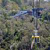 Flyway cable car in the Blue Mountains of New South Wales, Australia.