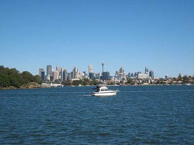 View from Huntleys Point on the North Shore of Sydney harbour.