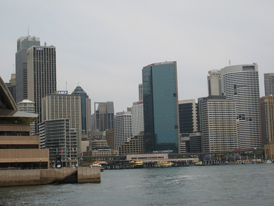 Sydney downtown area