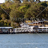Huntleys Point wharf along Parramatta river in Sydney, Australia.