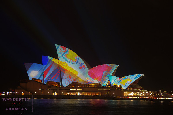 The Sydney Opera House on a bad LSD trip