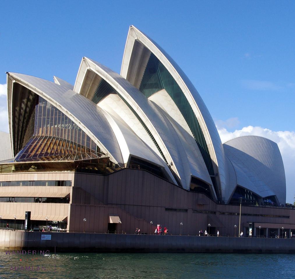 Yeah, the Opera House