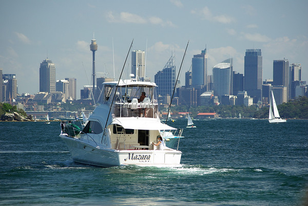 Looking towards Sydney from Watsons Bay
