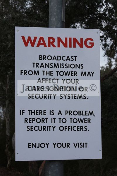 Canberra, ACT, Black Mountain Tower, May 2009