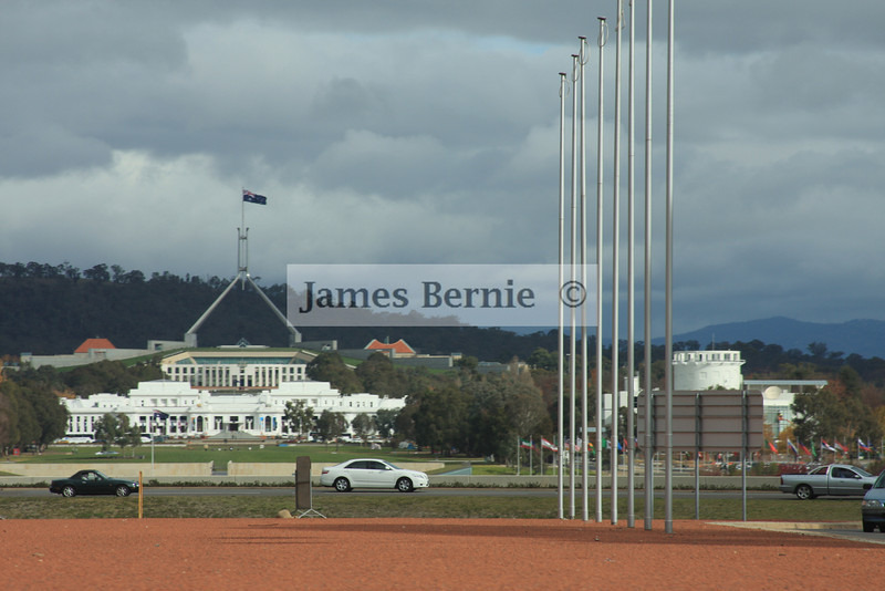 Canberra, ACT, Parliment House, Federal Parliment, May 2009