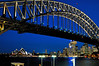 Sydney Harbour Bridge and the Opera House.