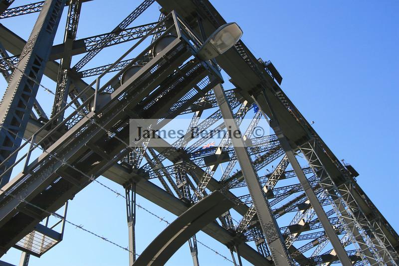Sydney Harbour Bridge walk, Sydney, NSW, September 2007