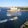 Sydney Harbour Bridge walk, Sydney, NSW, September 2007