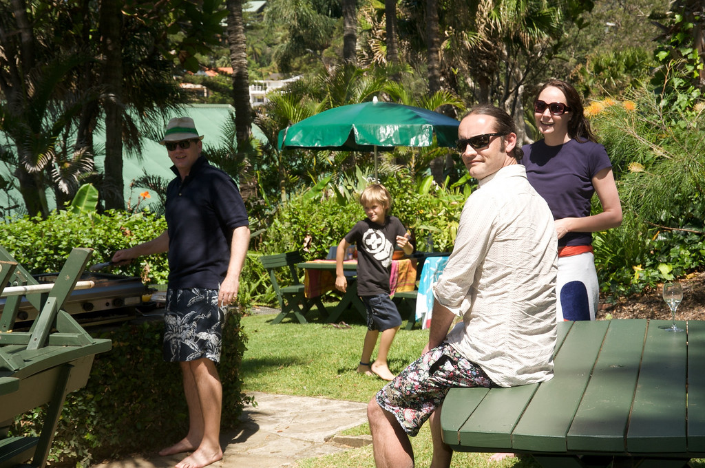 Barbi at Palm Beach<br /> with Stafford and Mary Clare