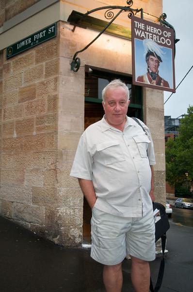 Old pub near the Rocks, Sydney