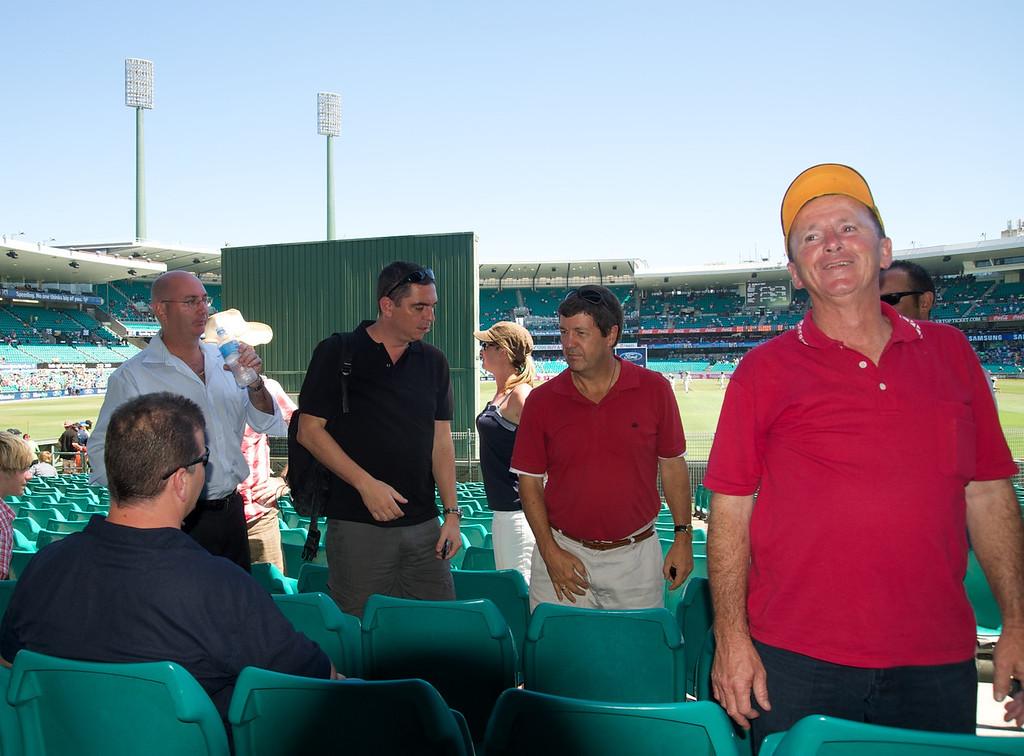 Aussie supporters<br /> Sydney Cricket Ground