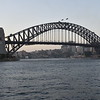 One landmark (Sydney Harbour Bridge) from another (Sydney Opera House)