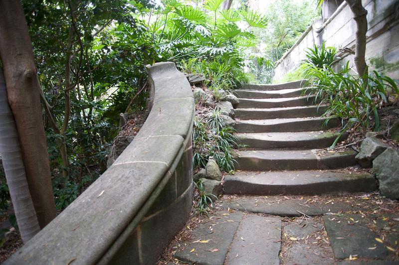 Well worn steps <br /> Elizabeth Bay<br /> Sydney NSW