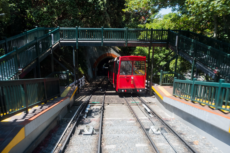 Funicular up the hill