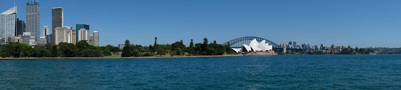 Iconic view of Sydney