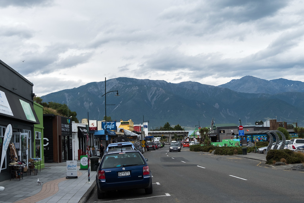 Kaikoura- first stop