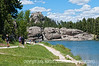 Sylvan Lake in Custer State Park, South Dakota; best viewed in the largest sizes