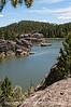 Sylvan Lake in Custer State Park, South Dakota; best viewed in the larger sizes