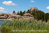 Sylvan Lake, Custer State Park, South Dakota; best viewed in the largest sizes