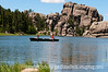 Sylvan Lake in Custer State Park, South Dakota; best viewed in the larger sizes