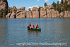 Sylvan Lake in Custer State Park in South Dakota; best viewed in the largest sizes