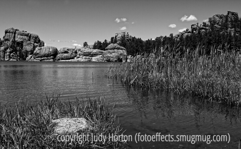 Lake at the top of the Needles highway drive in Custer State Park in SD; best viewed in the largest sizes