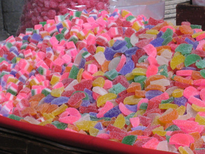 Woo, I feel hyper just looking at the colours in these sweets.
