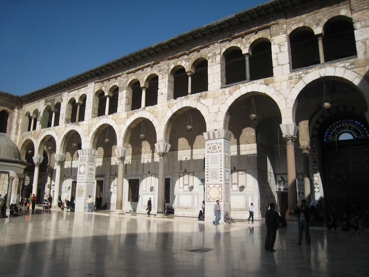 Courtyard of Umayyed Mosque