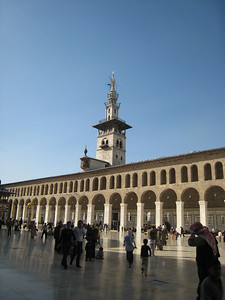 Courtyard of Umayyed Mosque