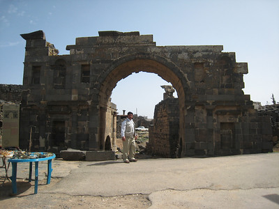 Osama at the Nabatean Gate.