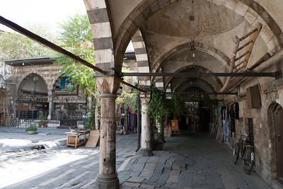 Damascus: Tekkiyeh as-Sulemaniyeh Mosque area