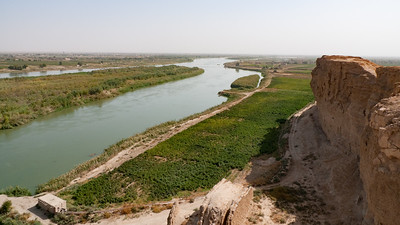 Dura Europos: View down to Euphrates