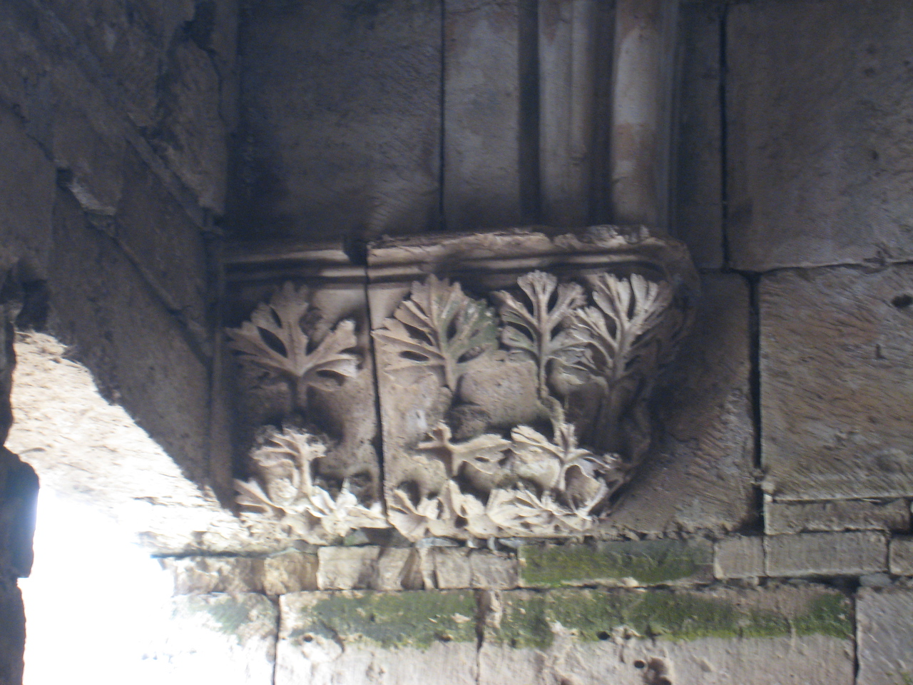 Delicate carving in the Great Hall.