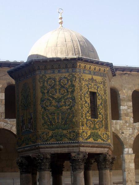 Umayyad mosque - Treasury tower.
