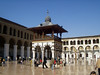 Umayyad mosque -- ablutions area, where worshippers wash themselves according to Muslim ritual before prayer.