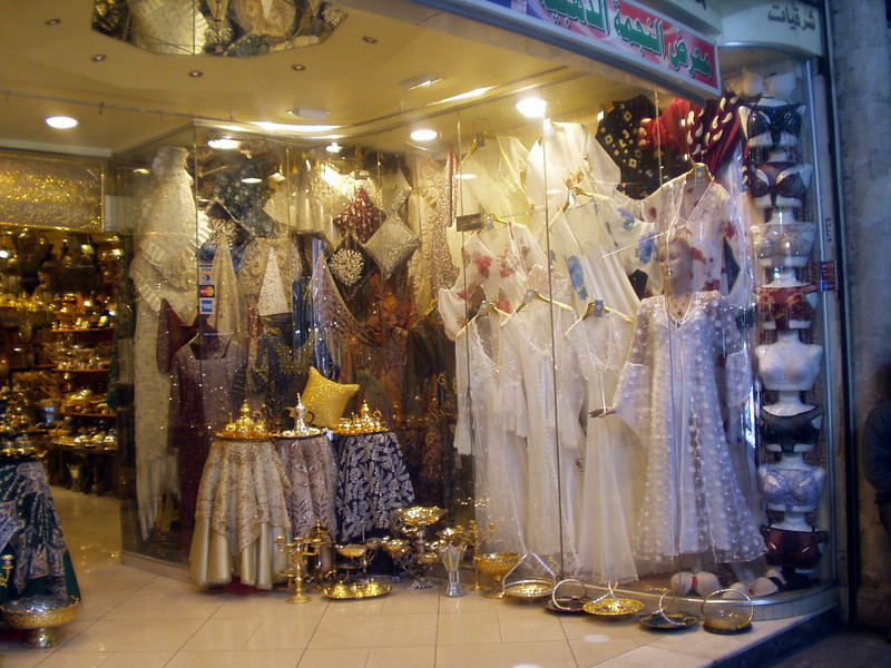 Souk Hamidiye - shop display