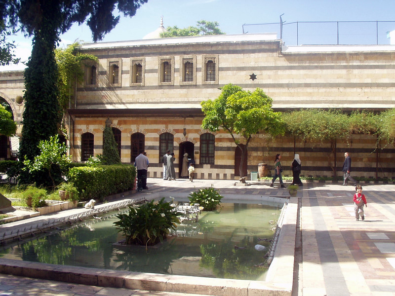 Azem Palace - courtyard