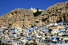 Maaloula Village and St. Gergious Monastery in Syria.