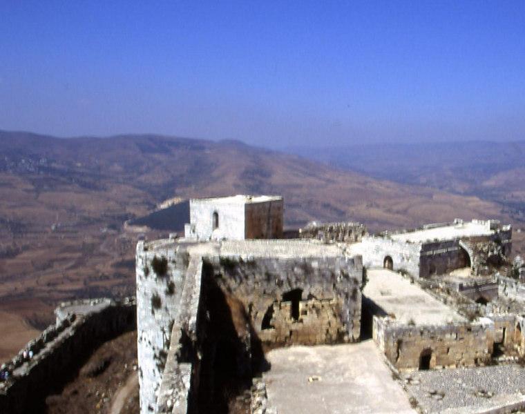 Krak Des Chevalies, Syria.