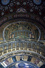Ceiling in the O Mayad Mosque in Damascus, Syria.