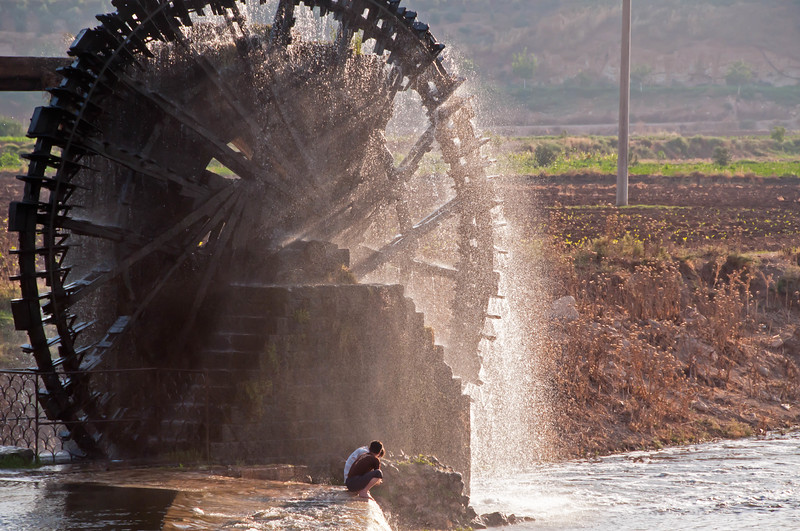 SYRIA WATER WHEEL-199