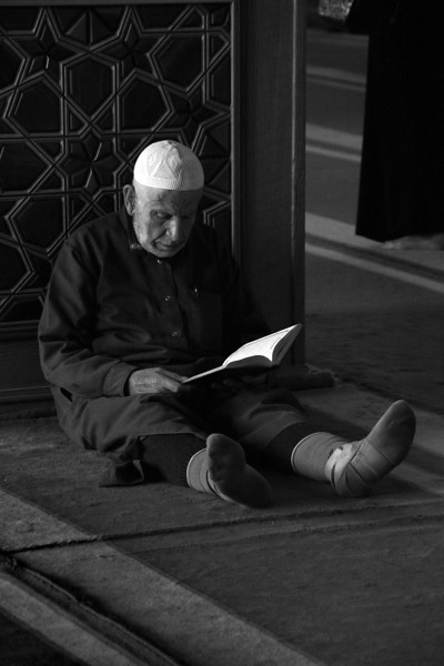 Reading, Omayyad Mosque, Aleppo