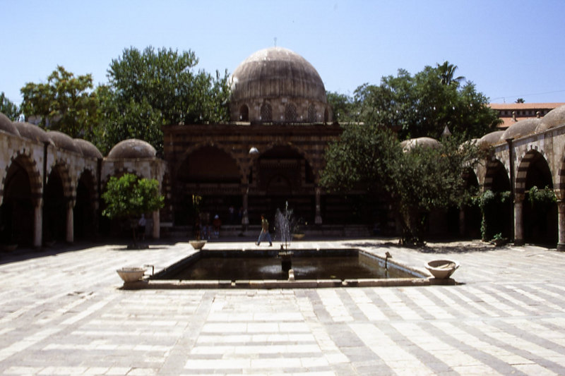 Suliman Mosque in Damascus, Syria.  This is now a handicraft centre.
