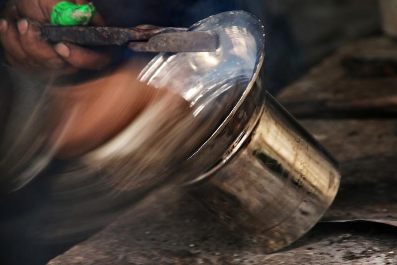 Tinning copper, Aleppo market
